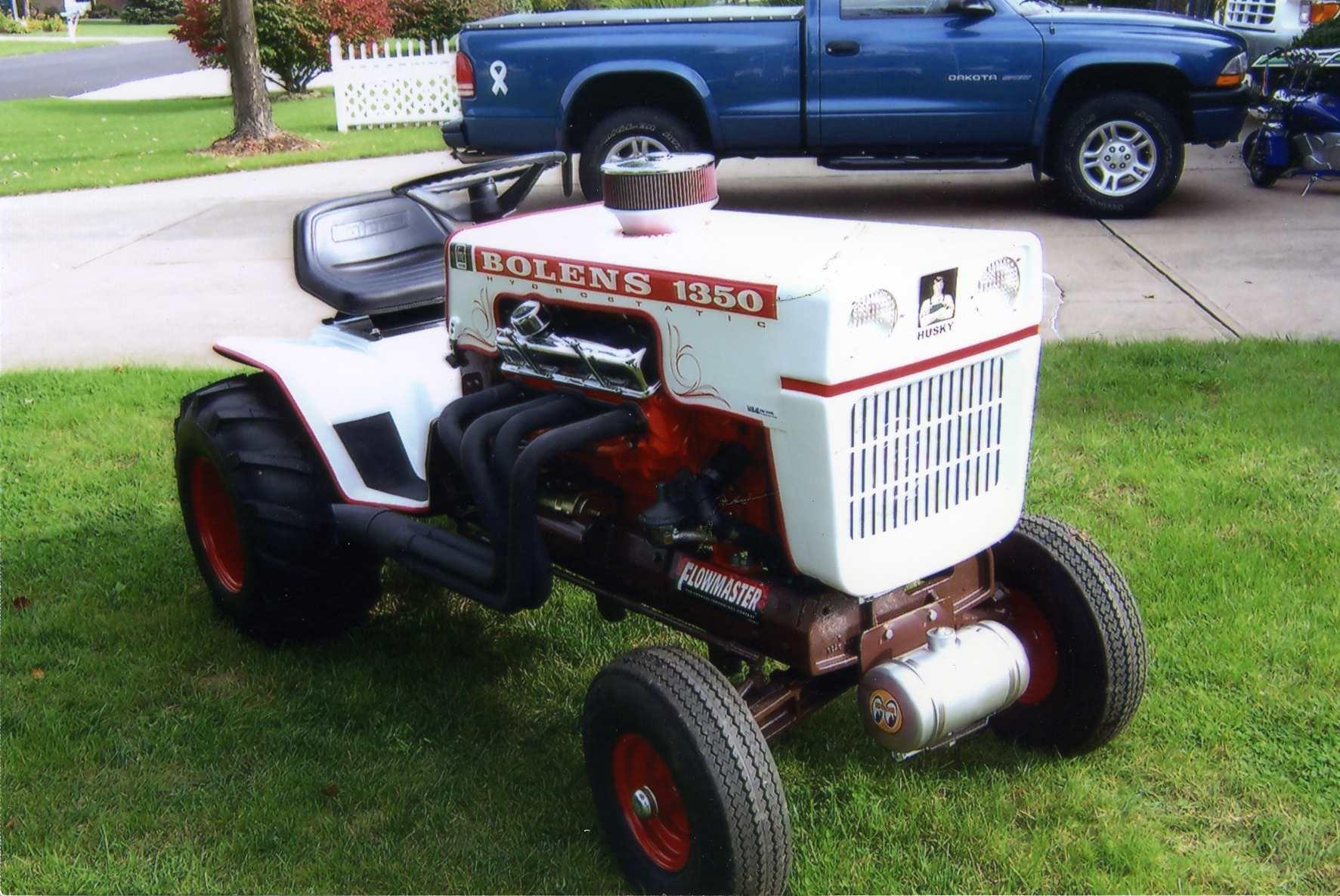 Garden Tractor Custom Truck : Bolens car interior design